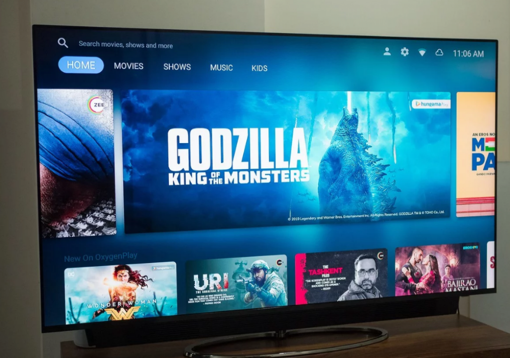 OnePlus TV based on Android