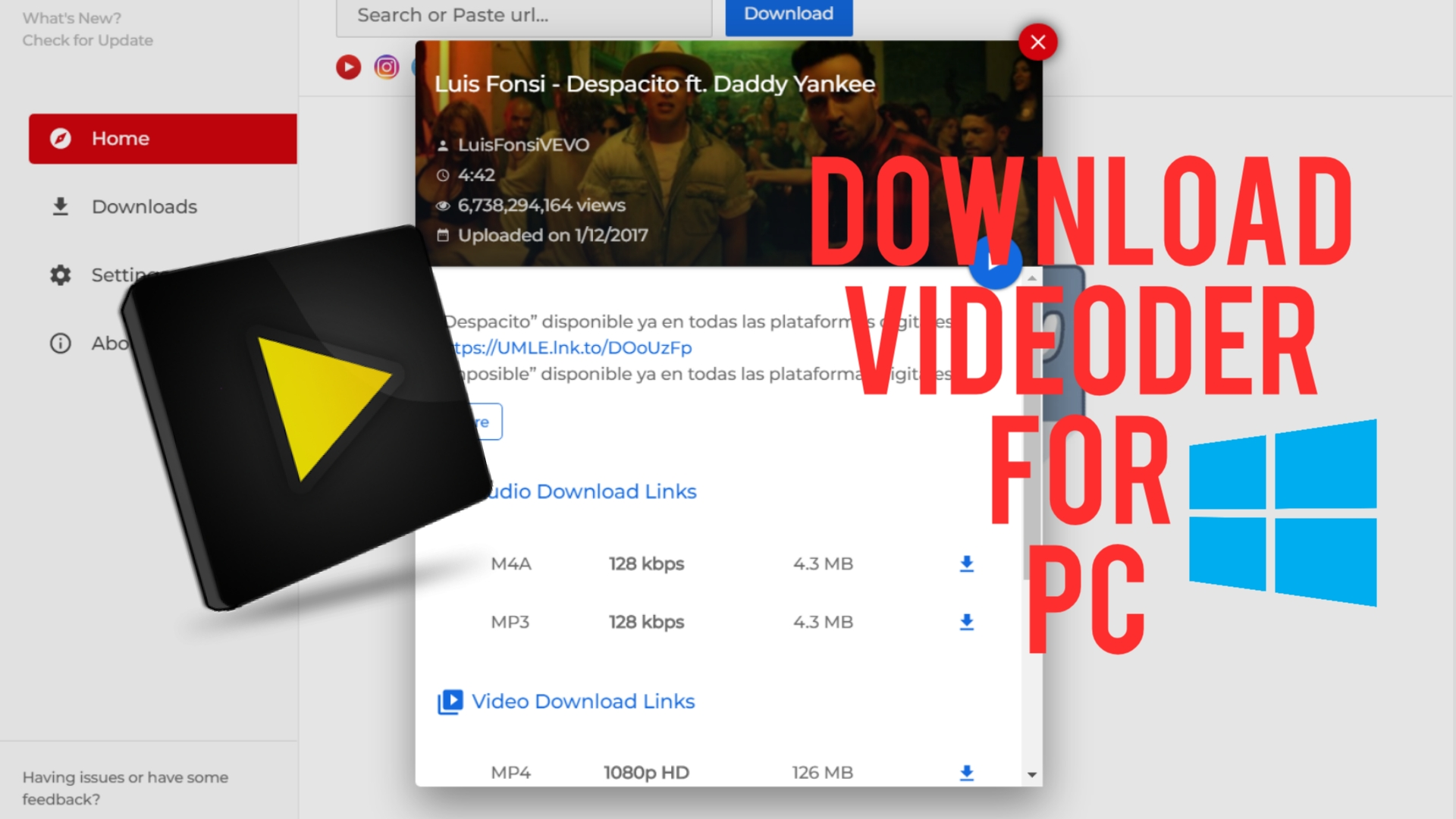 Videoder for PC - Download Latest Version for Windows 10 ...