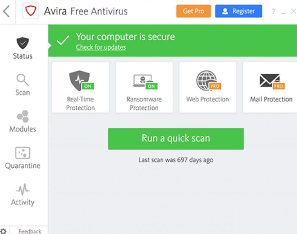 Avira download