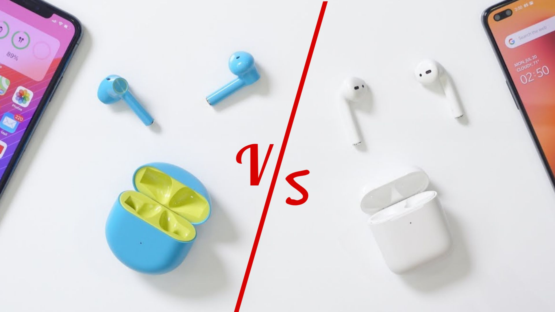 OnePlus Buds Apple AirPods