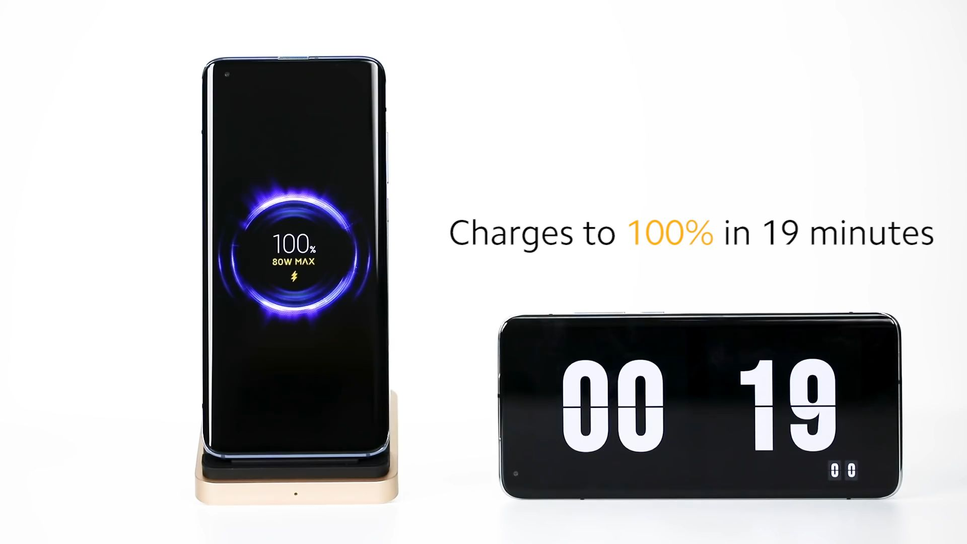 Xiaomi 80W wireless charging