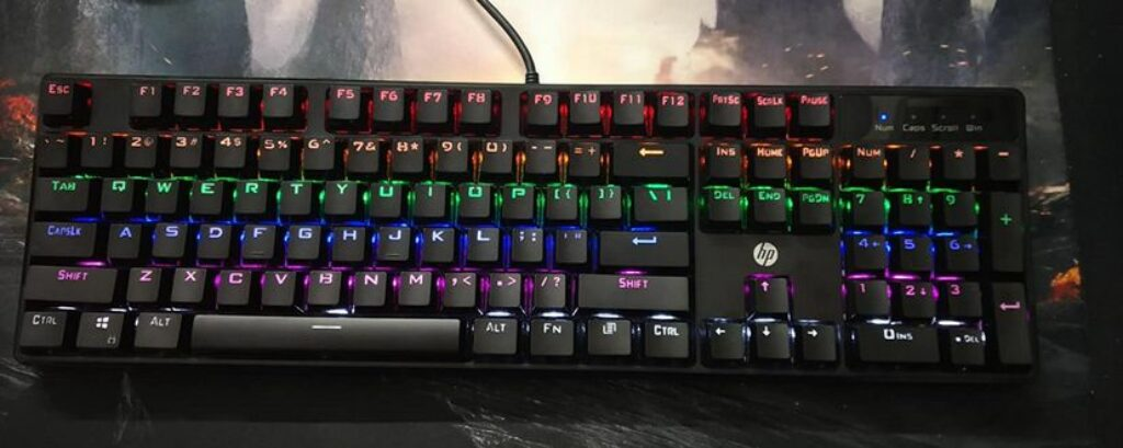 HP GK320 Gaming Keyboard