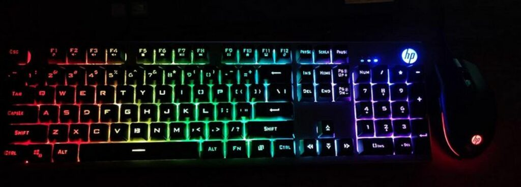 HP KM300F Gaming Keyboard and Mouse Combo