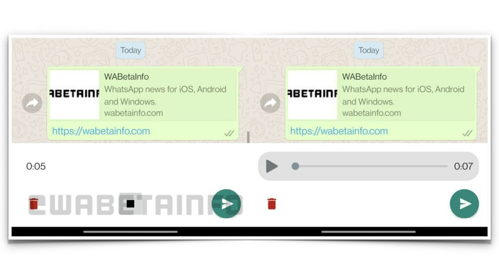 WhatsApp voice review